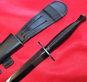 AUSTRALIAN BRITISH ARMY MARINES FAIRBAIRN & SYKES COMMANDO KNIFE SWORD WW2 STYLE