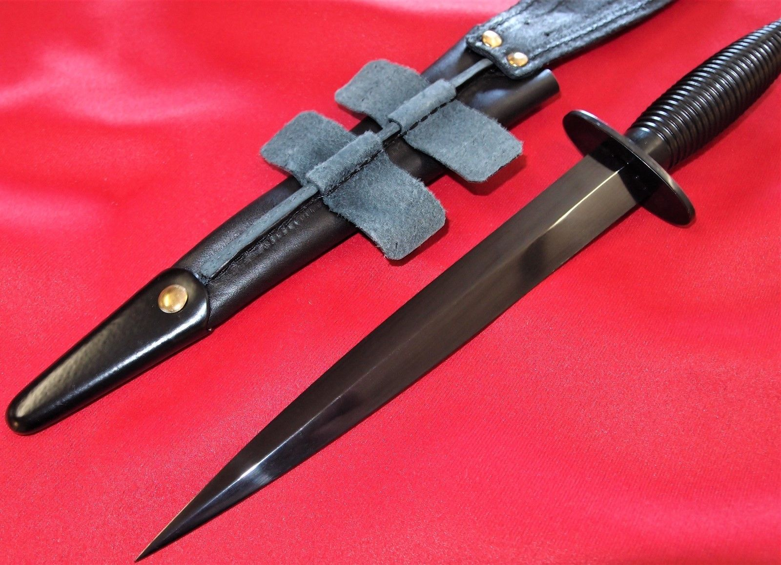 Military Surplus Auction >> ARMY ROYAL MARINES SURPLUS FAIRBAIRN & SYKES COMMANDO KNIFE SWORD S.A.S.R. – JB Military Antiques