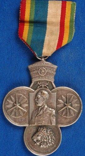 Rare Ethiopia Korean War Medal Made In Sweden Jb