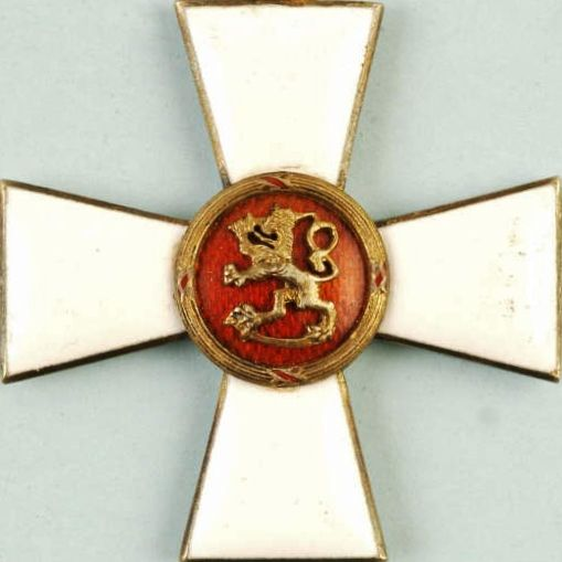 WW2 FINLAND MILITARY ORDER OF THE LION (OFFICER) MEDAL RARE CROSS