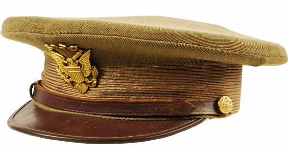 1920 S 1930 S Us Army Reserve Peaked Cap Rotc Jb