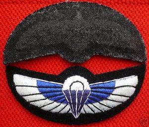 1980's ERA BRITISH ARMY IRISH GUARDS OFFICER'S ENAMEL UNIFORM CAP