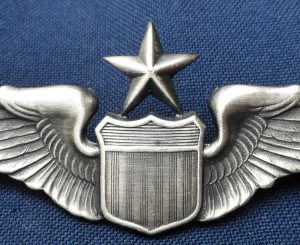 US AIR FORCE SENIOR PILOT QUALIFICATION WING BADGE