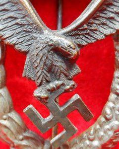 WW2 GERMAN LUFTWAFFE PILOT BADGE GWL