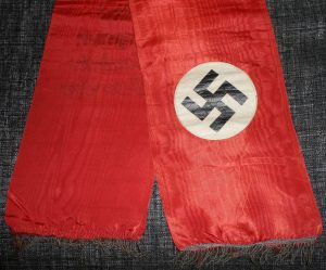 WW2 GERMAN FUNERAL FLAG FROM NAZI GAULIETER