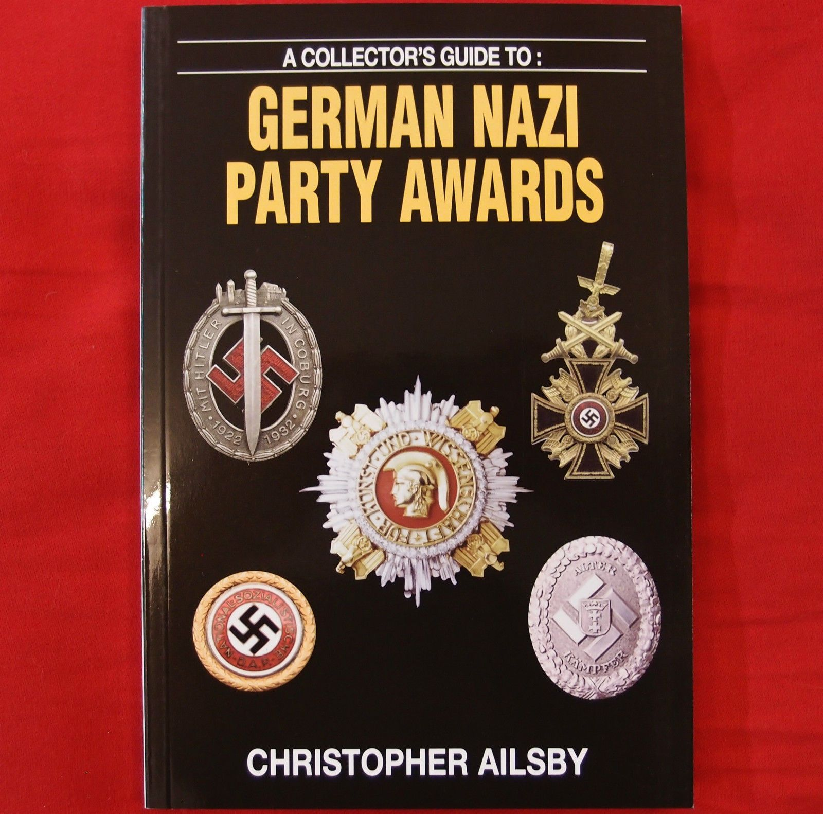 German Nazi Party Pins: LOT OF 7 GERMAN NAZI PARTY BADGES