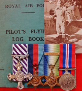 WW2 RAF 1944 DFC KIA MEDAL GROUP 101 SQN BOMBER COMMAND EXHAUSTIVE RESEARCH