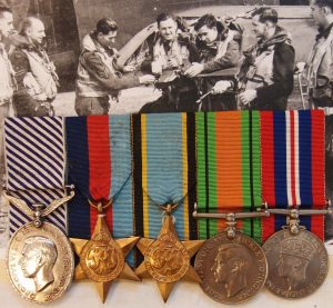 WW2 RAAF DFM MEDAL GROUP 460 SQN 30 SORTIES PEENEMUNDE RAID CGM RELATED
