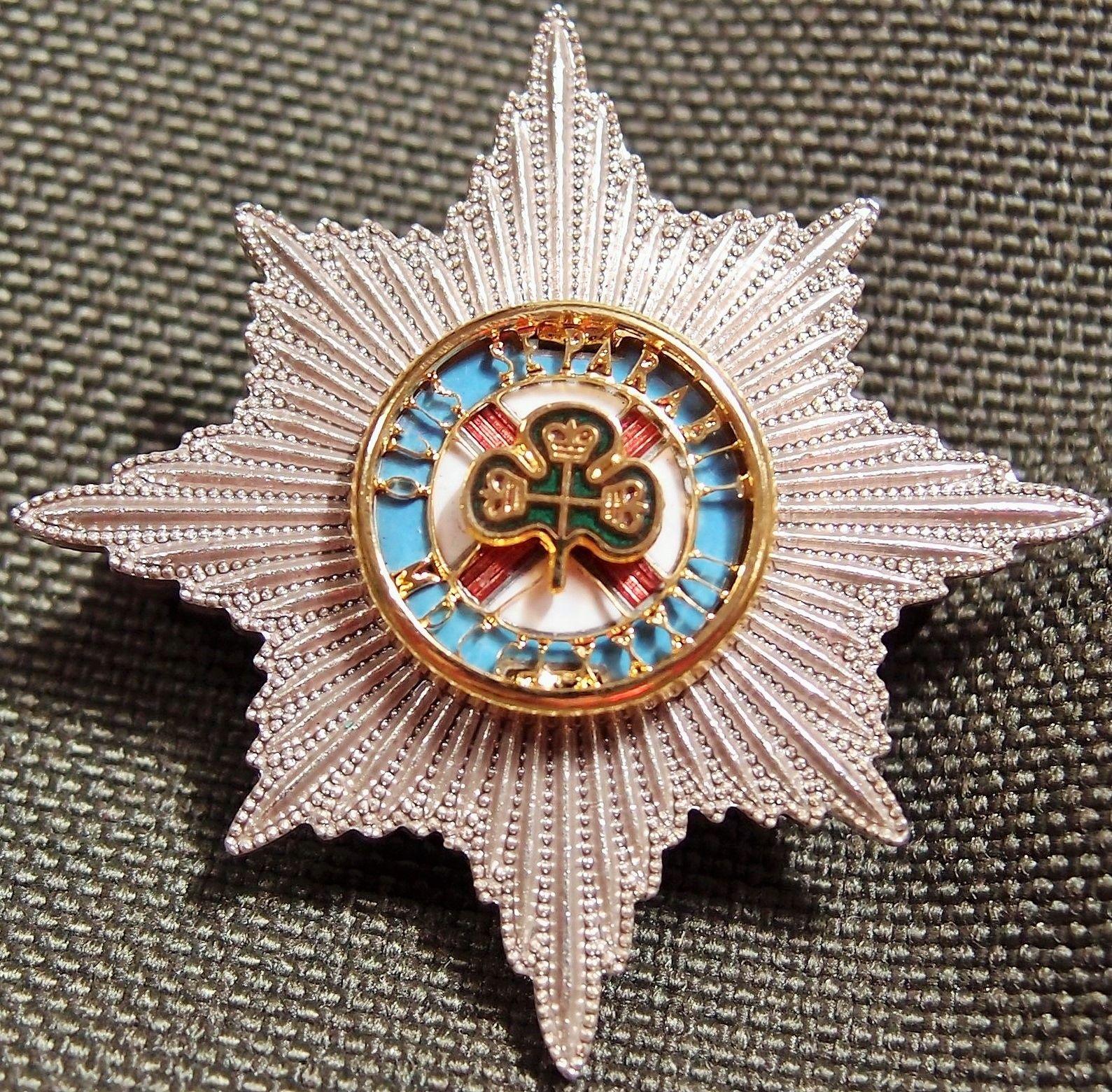 1980 S Era British Army Irish Guards Officer S Enamel