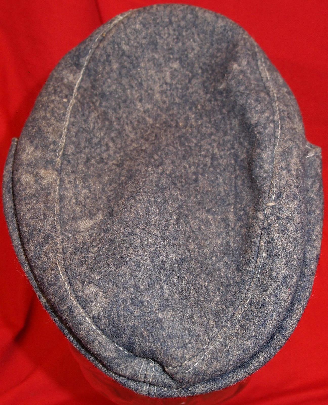 Ww2 German Police M43 Hat Badge: WW2 GERMAN LUFTWAFFE M43 ENLISTED FIELD CAP