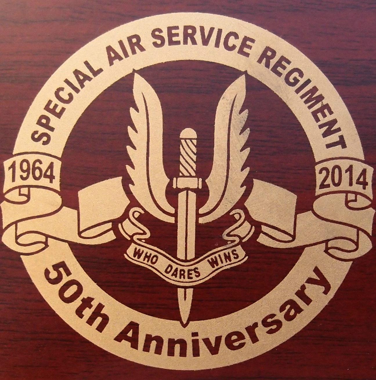 AUSTRALIAN ARMY SPECIAL AIR SERVICE REGIMENT SASR 50TH ANNIVERSARY COIN #'D