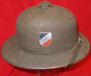 576fc1fa6e8e8 Sold WW2 GERMAN ARMY TROPICAL PITH HELMET (tropenhelm) AFRIKA KORPS