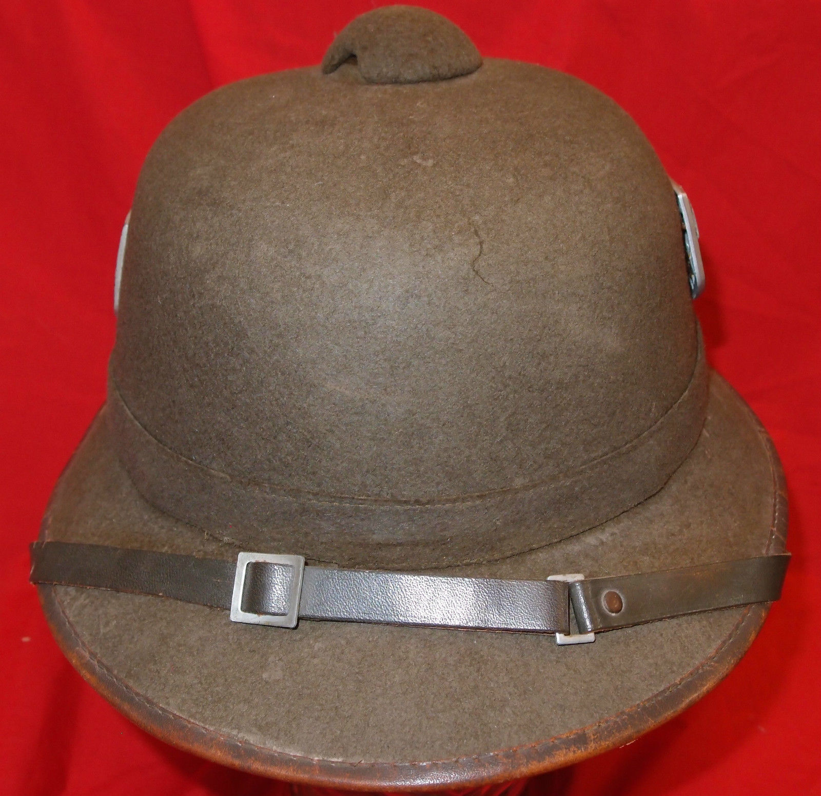 WW2 GERMAN ARMY TROPICAL PITH HELMET (tropenhelm) AFRIKA KORPS
