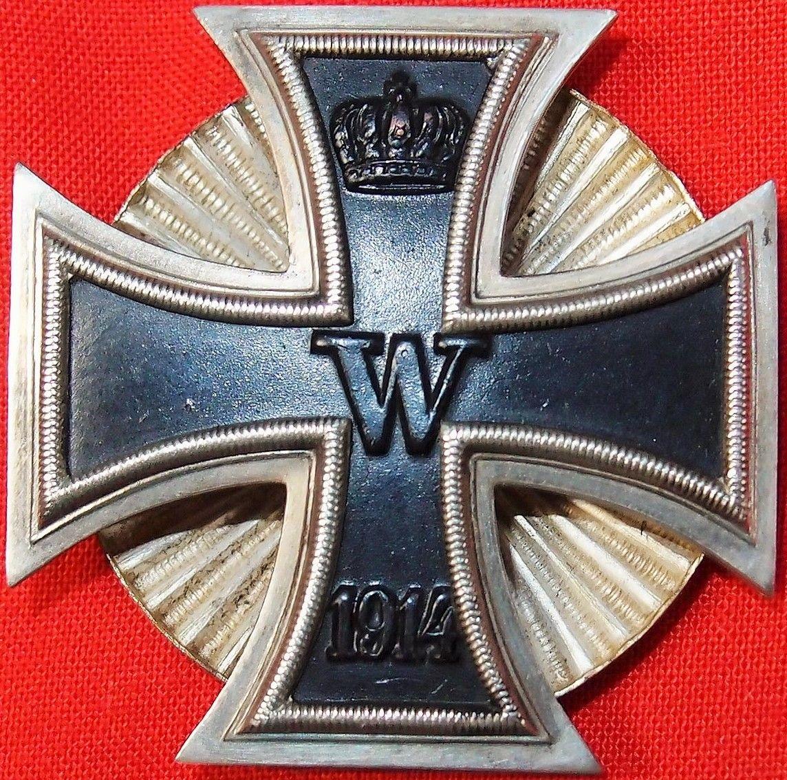 Железный немецкий крест