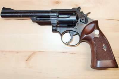 .357 MAGNUM JAPANESE MADE BLANK FIRING REPLICA PISTOL