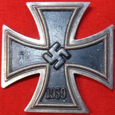 WW2 GERMAN IRON CROSS 1ST CLASS L/58