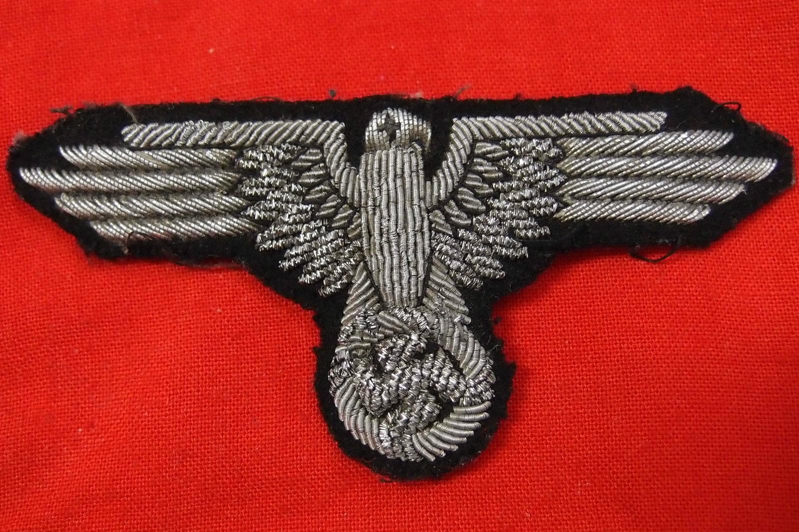 WW2 GERMAN WAFFEN SS OFFICER'S UNIFORM EAGLE