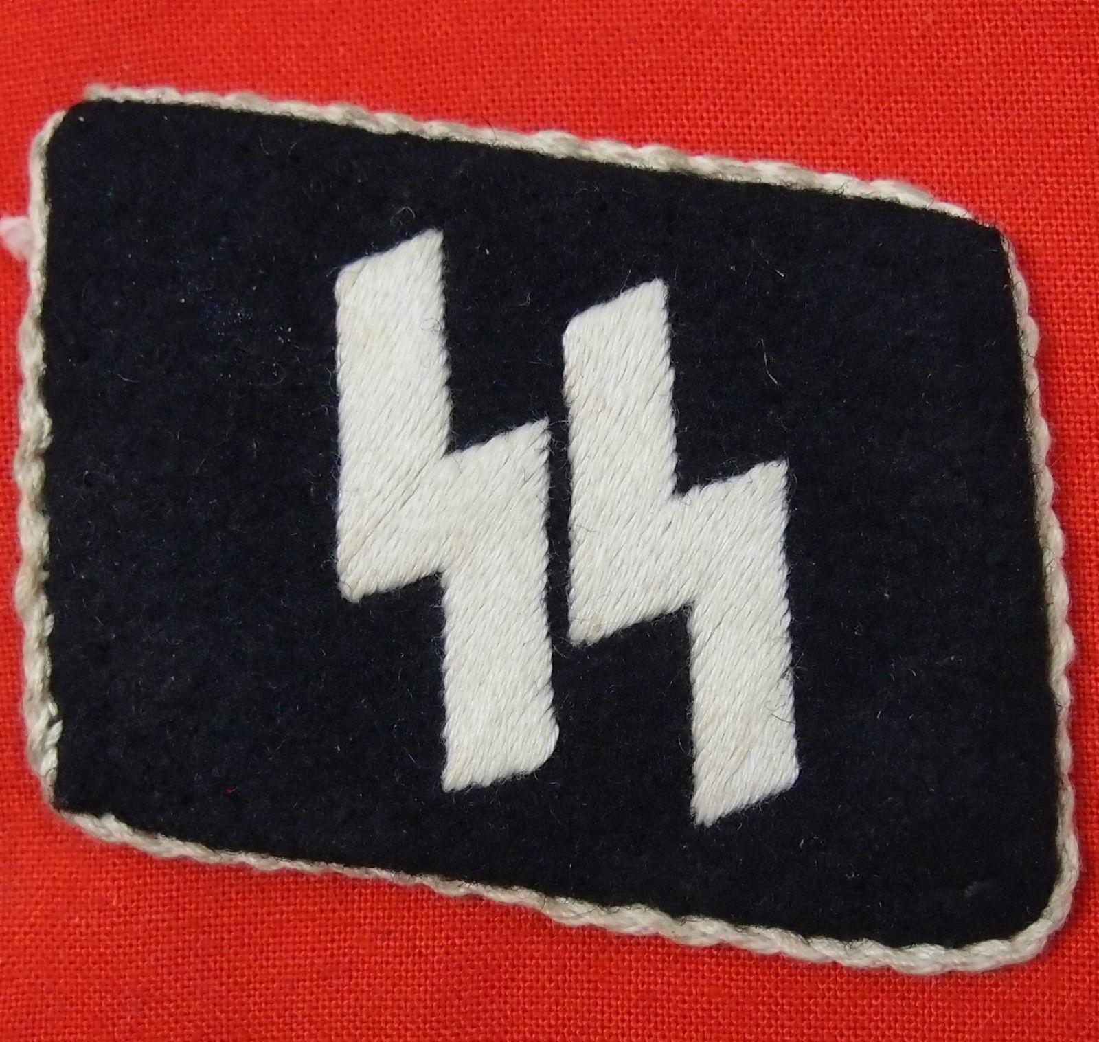 WW2 GERMAN SS UNIFORM COLLAR TAB
