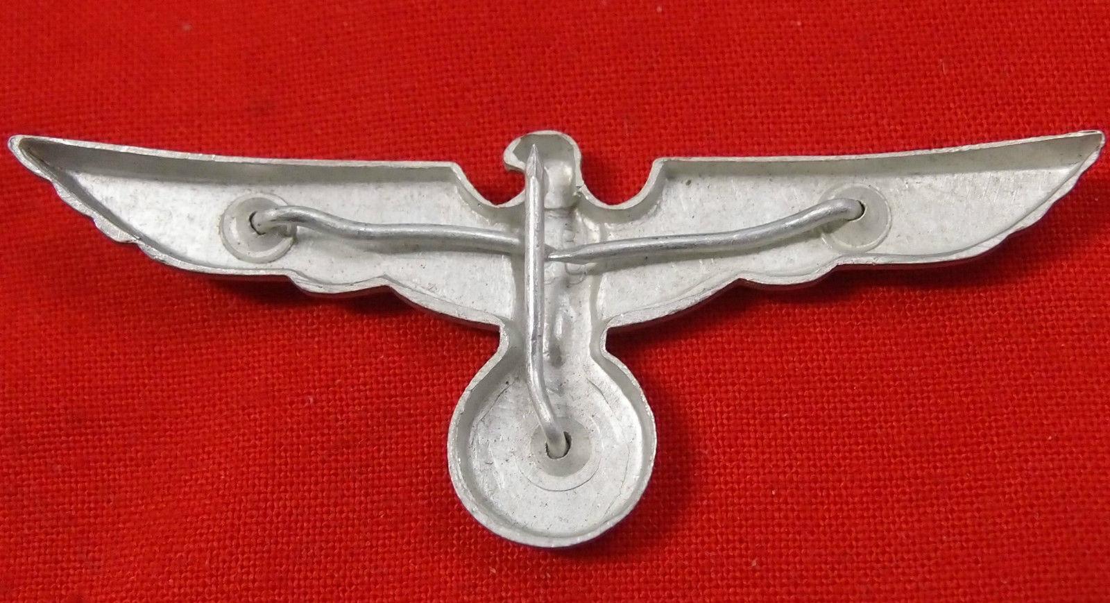 Ww2 German Army Uniform Cap Eagle 1939 Dated Jb Military
