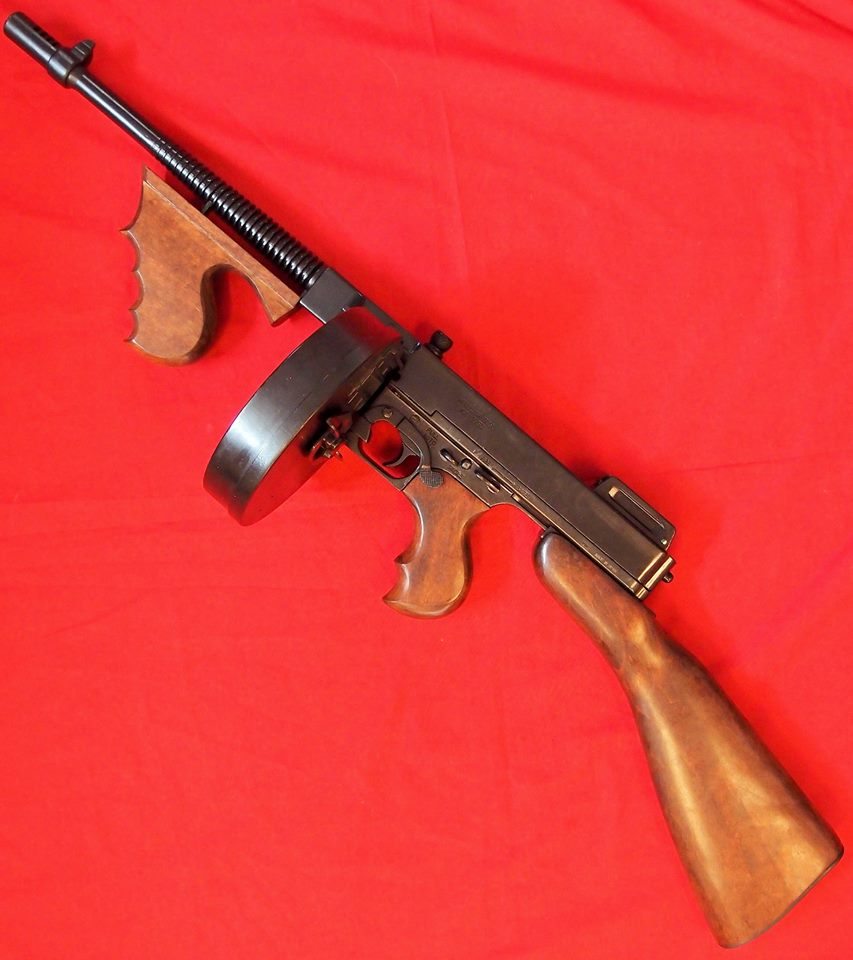 Replica model 1928 thomson sub machine gun chicago - Replica mobel legal ...
