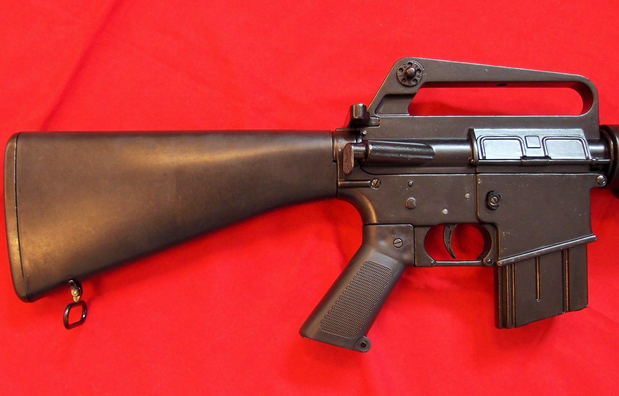 replica m16 us assault rifle denix gun jb military antiques