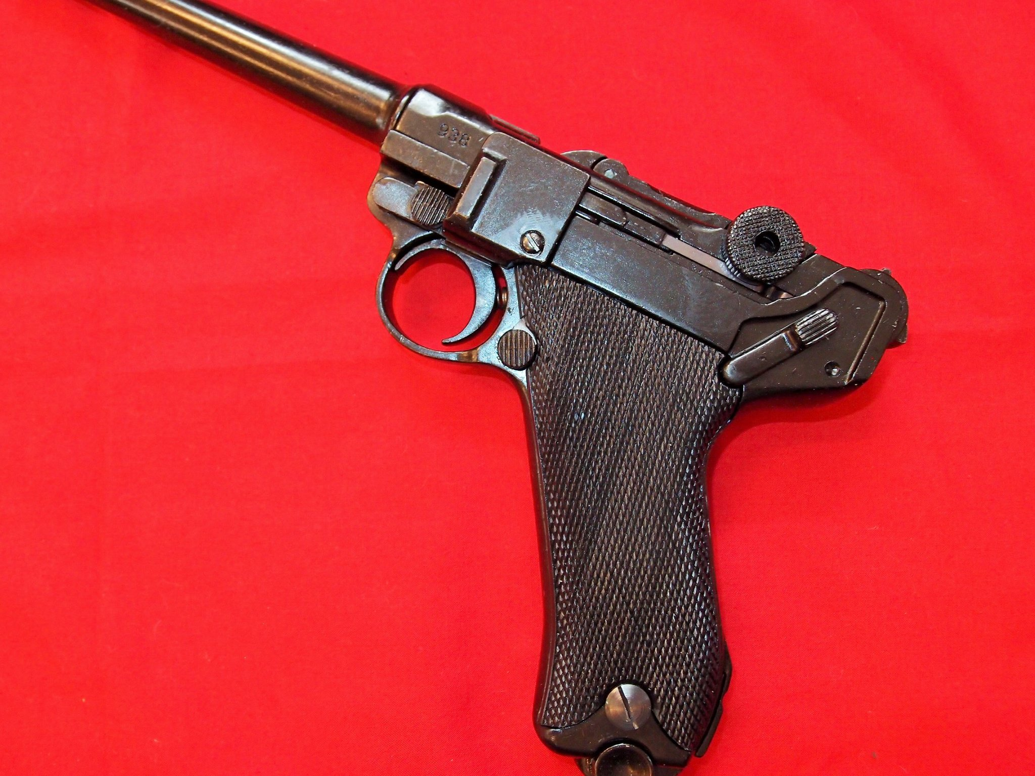 REPLICA WW1 WW2 GERMAN NAVY LUGER PISTOL BY DENIX