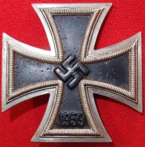 WW2 GERMAN IRON CROSS 1ST CLASS L/15