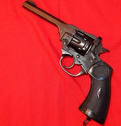 REPLICA WW1 WW2 BRITISH & AUSTRALIAN WEBLEY PISTOL BY DENIX