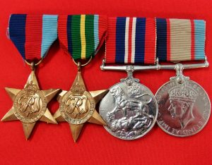 WW2 WEST AUSTRALIAN PRISONER OF WAR MEDAL GROUP RAAF THAI BURMA RAILWAY