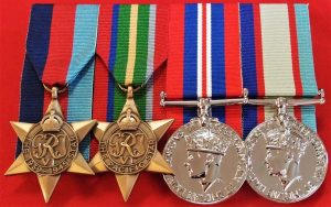 REPLICA WW2 PACIFIC CAMPAIGN MEDAL GROUP AUSTRALIA MOUNTED