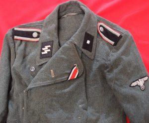 WW2 GERMAN WAFFEN SS SELF PROPELLED GUNNERS PANZER JACKET