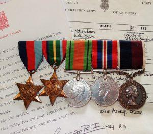 WW2 BRITISH ROYAL AIR FORCE RAF THAI BURMA RAILWAY POW MEDAL GROUP
