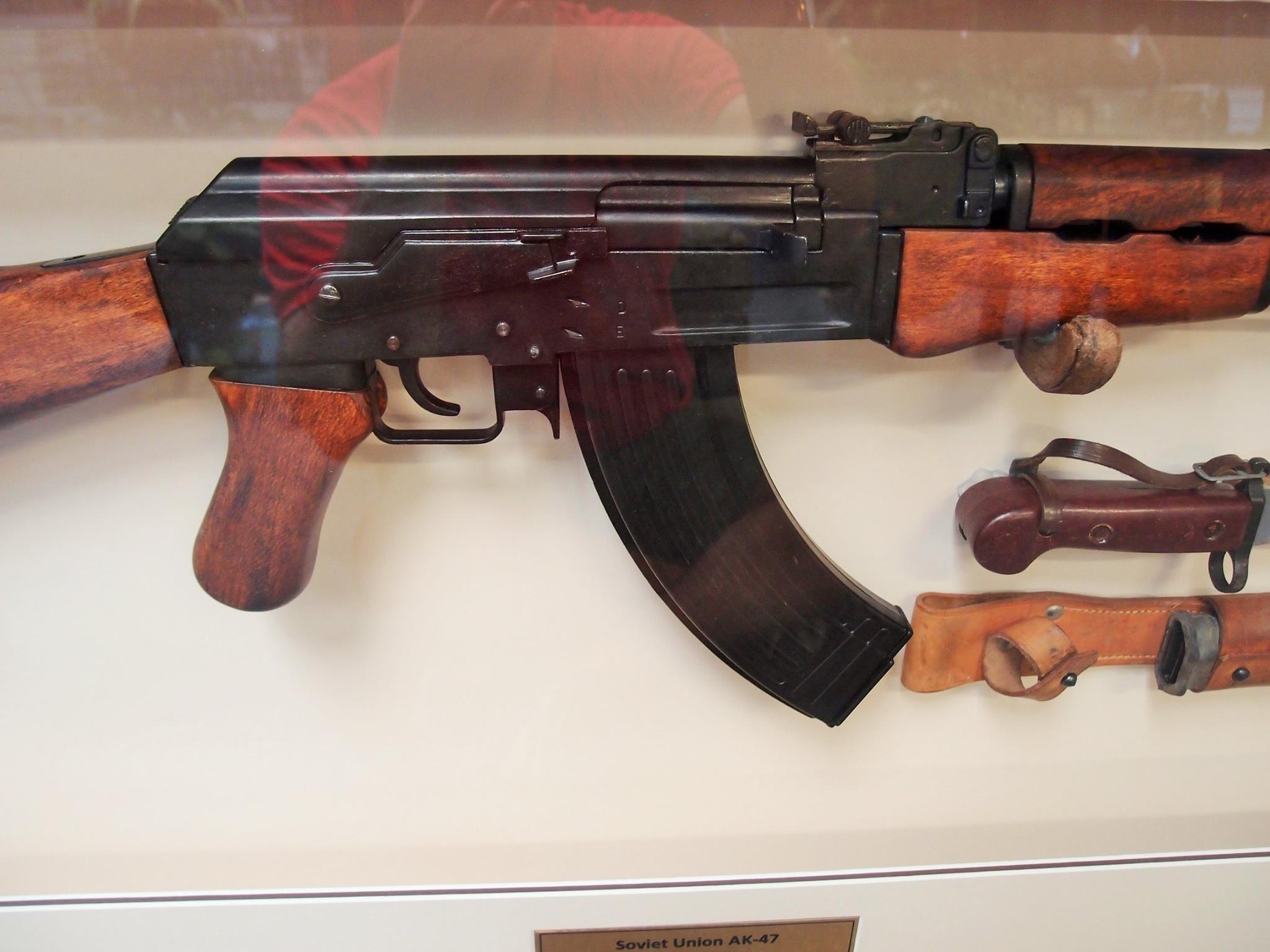 Sold Framed Russian Soviet Ak 47 Amp Bayonet Rifle Jb