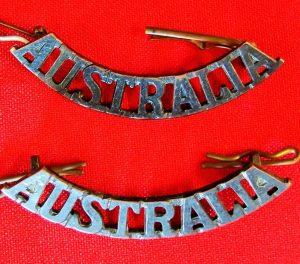 WW1 WW2 KOREAN WAR AUSTRALIAN ARMY *AUSTRALIA* SHOULDER BADGES ANZAC