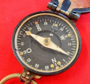 WW2 GERMAN ARMY MILITARY MARCHING COMPASS BUSCH