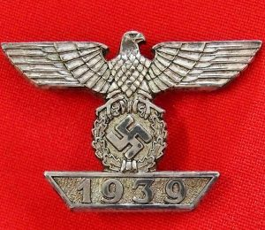 WW2 GERMAN BAR TO THE 1939 IRON CROSS 1ST CLASS BADGE
