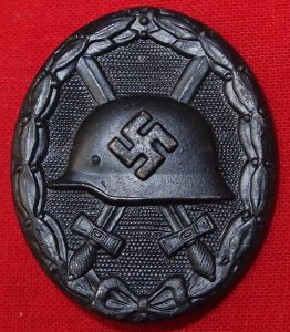 WW2 GERMAN WOUND BADGE IN BLACK