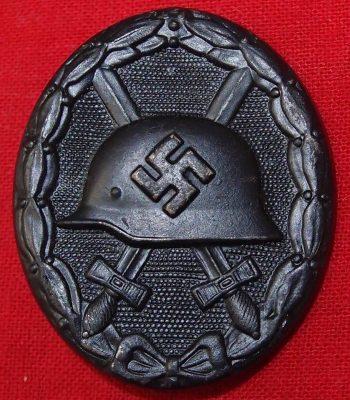 WW2 GERMAN WOUND BADGE IN BLACK