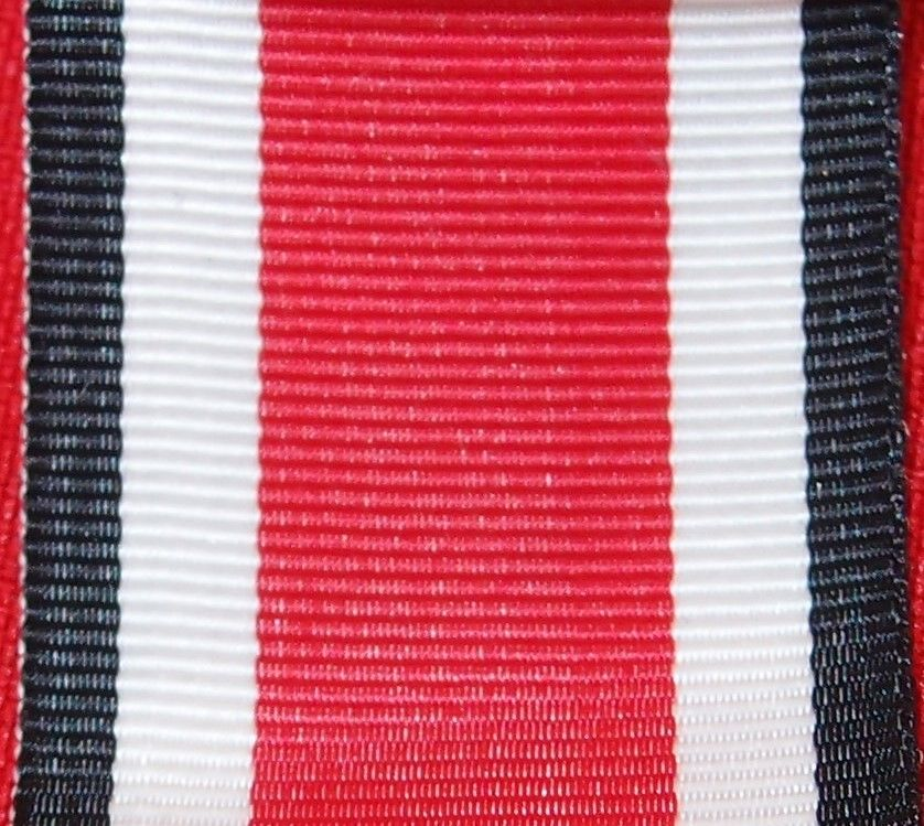 WW2 NAZI GERMANY IRON CROSS 2ND CLASS MEDAL RIBBON FOR MOUNTING