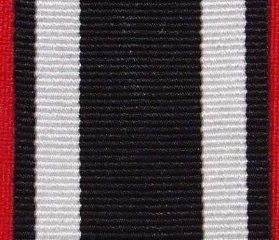 WW1 GERMAN IRON CROSS 2ND CLASS MEDAL RIBBON FOR MOUNTING