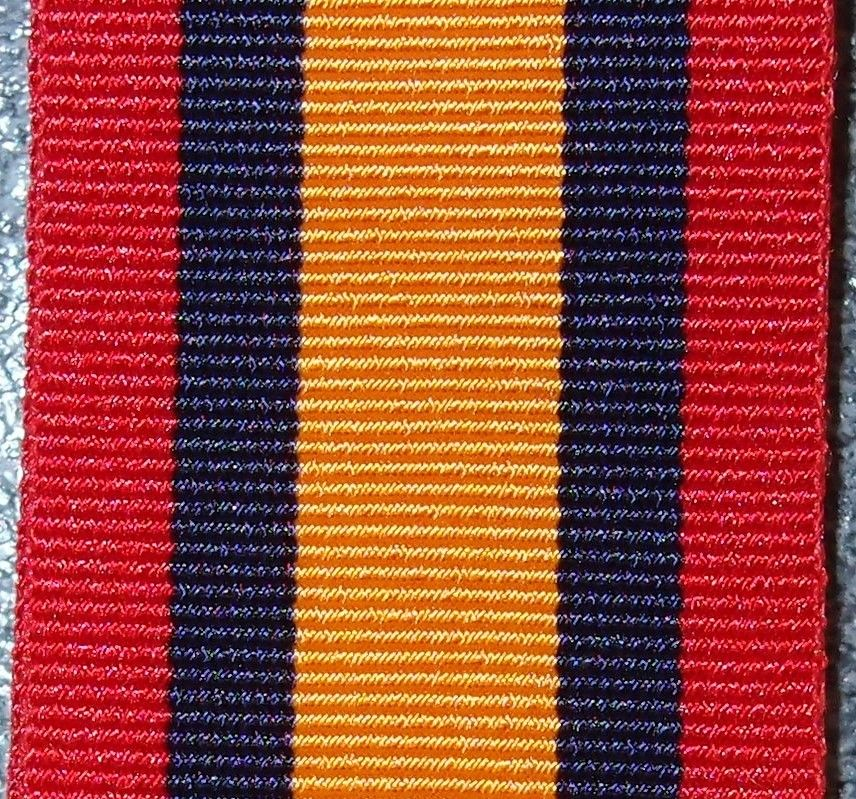 QUEEN'S SOUTH AFRICA MEDAL RIBBON MEDAL REPLACEMENT MOUNTING