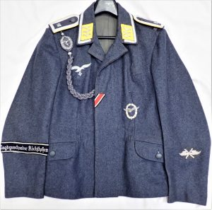 WW2 GERMAN AIR FORCE LUFTWAFFE FLIGHT SERGEANT'S UNIFORM JACKET