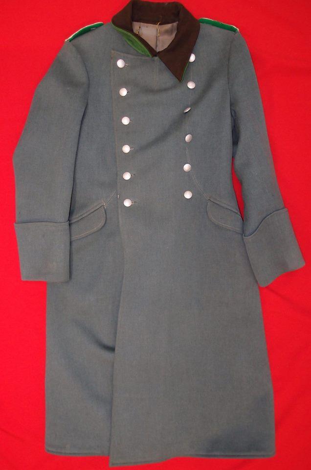 Sold Ww2 German Police Officer S Uniform Great Coat