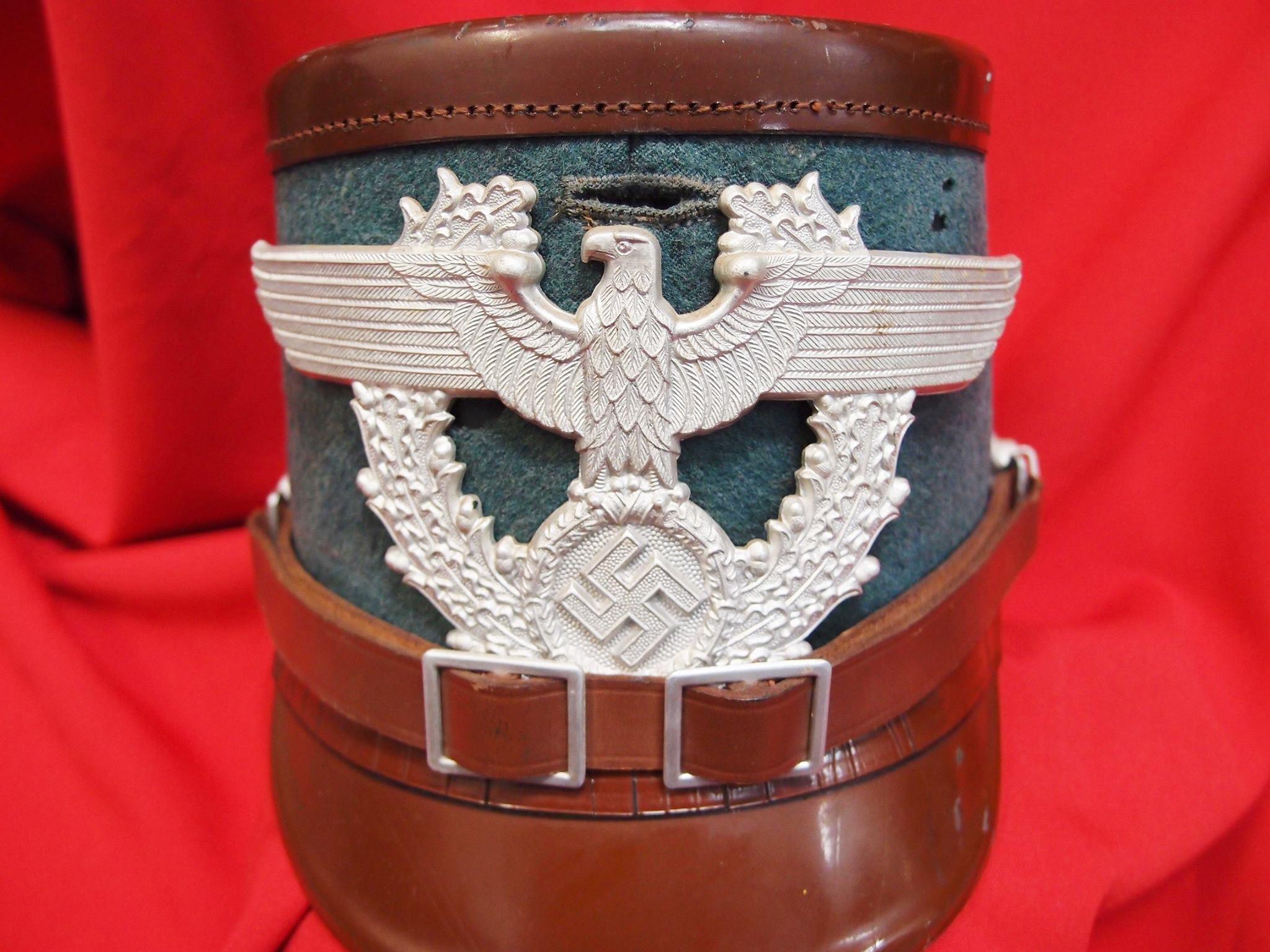 Ww2 German Rural Police Enlisted Man S Uniform Shako Jb
