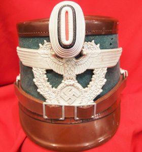 WW2 GERMAN RURAL POLICE ENLISTED MAN'S UNIFORM SHAKO