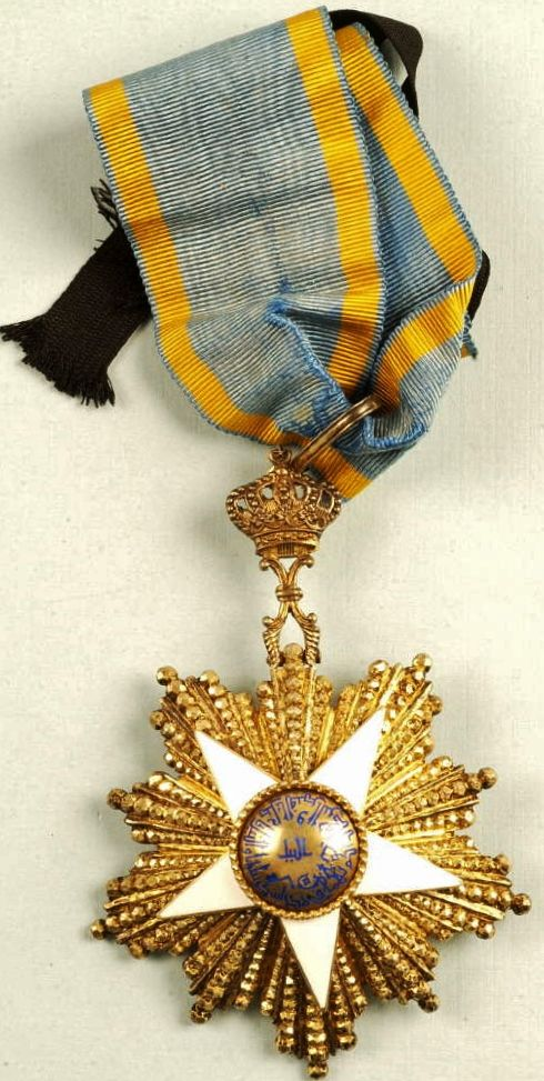 EGYPTIAN ORDER OF THE NILE, COMMANDER GRADE