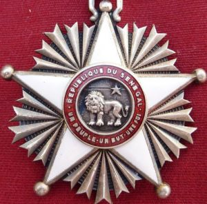 WW2 SENEGAL ORDER OF THE LION KNIGHT CLASS MEDAL