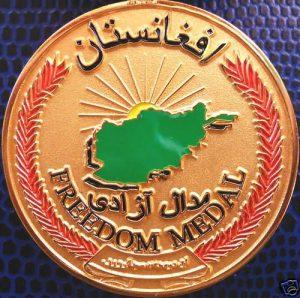 US – AUSTRALIAN -COALITION TERRORISM AFGHAN FREEDOM MEDAL