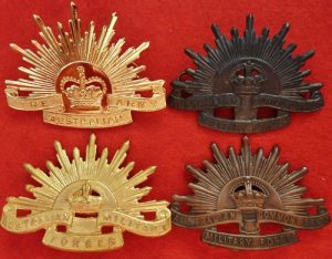 WW1 WW2 VIETNAM WAR RISING SUN BADGE
