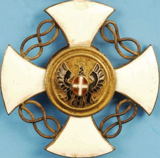 ITALIAN ORDER OF THE CROWN MEDAL 5TH CLASS